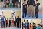 درخشش ورزشکاران رزمی کار شهرستان پاوه در مسابقات کیک بوکسینگ قهرمانی استان کرمانشاه