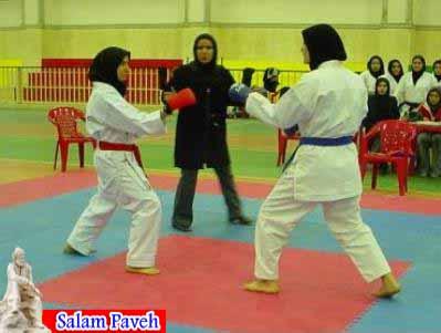 افتخاری دیگر برای بانوان کاراته کا شهر پاوه