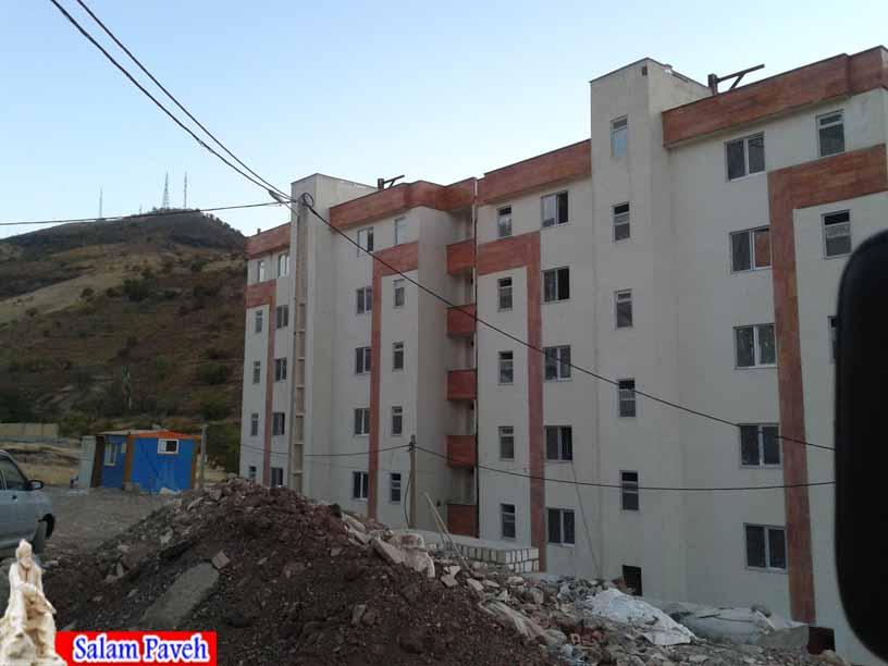 800 واحد مسکونی مهر به مردم پاوه تحویل شده است