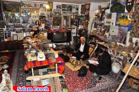 موزه آثار تاریخی و صنایع دستی هنرمند پاوه ای ثبت ملی می شود