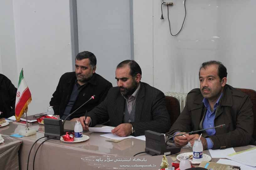 پنجمین جلسه کار گروه سلامت و مواد غذایی شهرستان پاوه برگزار شد