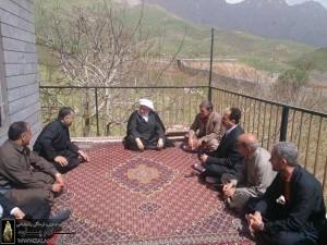 مدیر کل و امام جمعه پاوه