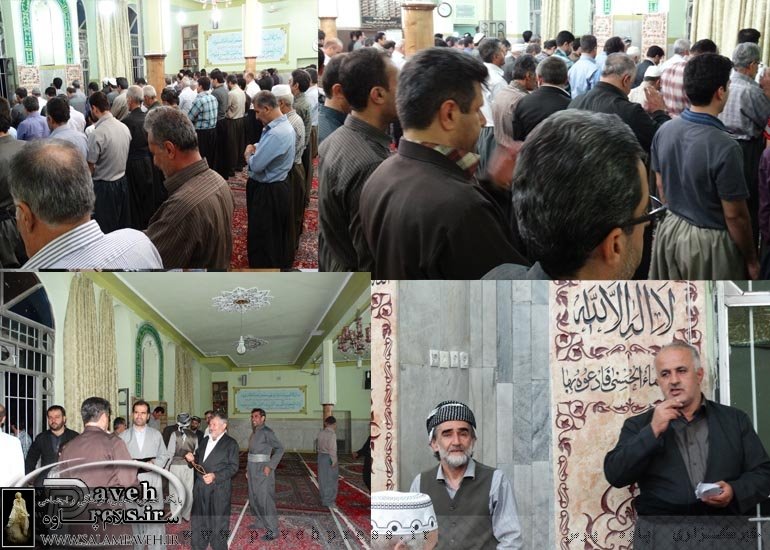 شورا ياران محله تكيه و خيابان رسالت پاوه انتخاب شدند