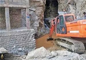 تخریب چشمه بل هجیج