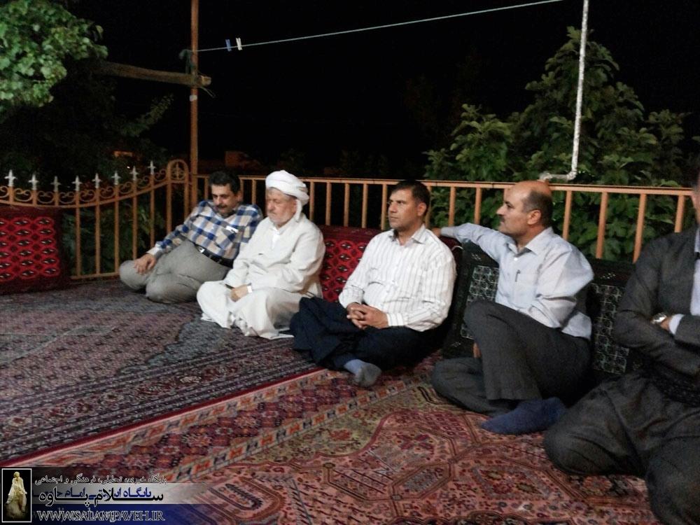 سرپرست دانشگاه علوم پزشکی کرمانشاه با ماموستا قادری دیدار کرد.
