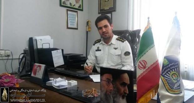 گفتگوی اختصاصی سلام پاوه با ریس پلیس راهور شهرستان پاوه