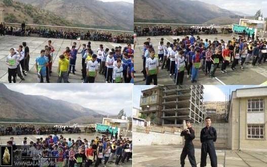 المپیاد ورزشی در دبیرستان نمونه دولتی پاوه آغاز شد