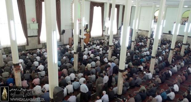 گزارش کامل نماز جمعه این هفته شهر پاوه + عکس