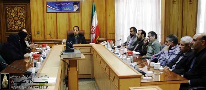 دیدار اعضای انجمن اسلامی معلمان با استاندار کرمانشاه