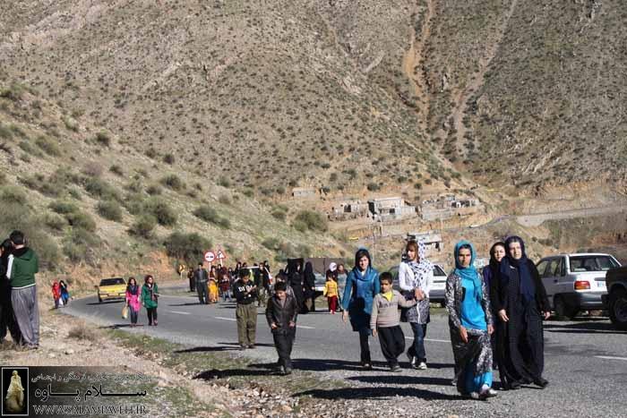 همایش پیاده روی خانوادگی در نوسود برگزار شد+ عکس