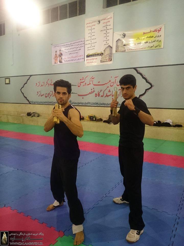 درخشش سهیل احمدی در مسابقات المپیاد دانشجویی کونگ فو