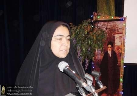 معاون فرماندار پاوه: زنان پرچمدار بیداری اسلامی هستند