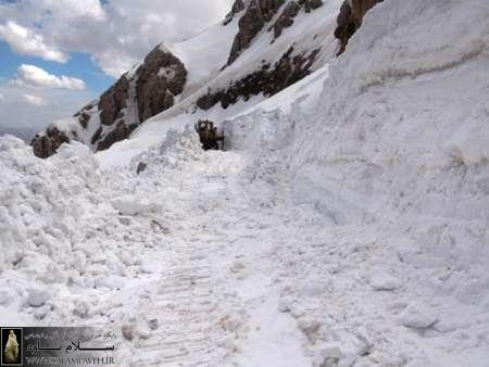 راه ارتباطی شهرستان پاوه به مریوان بعد از پنج ماه بازگشایی شد
