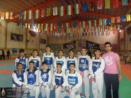 حضور نونهالان تکواندوی پاوه در اردوی تیم ملی تکواندو