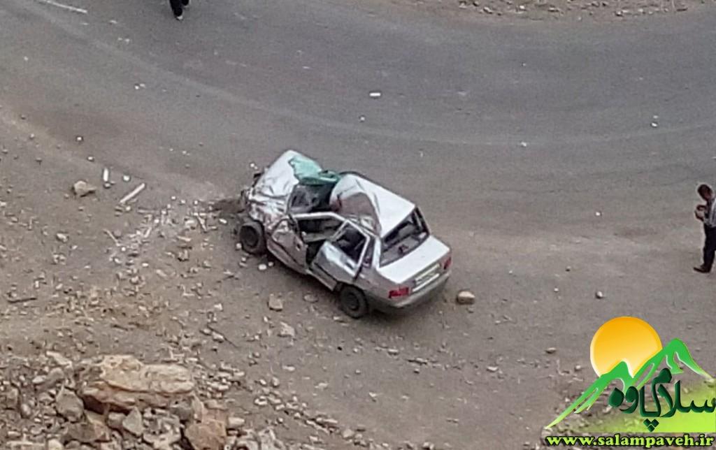 تصادف در نودشه