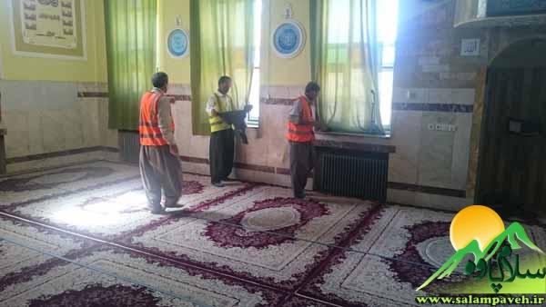 غبار روبی مساجد