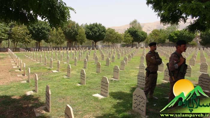 گزارش تصویری از سفر نماینده و فرماندارپاوه به حلبچه عراق