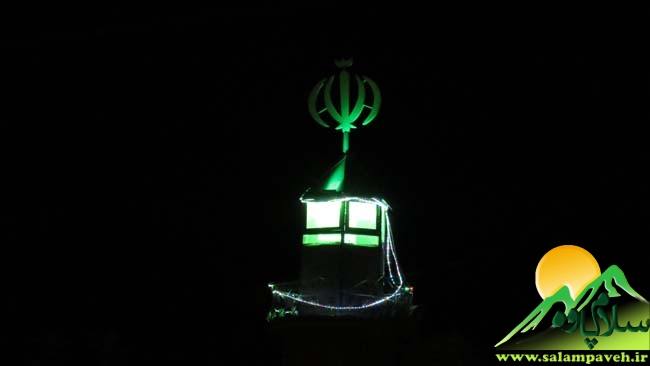 شب قدر مسجد قبای پاوه