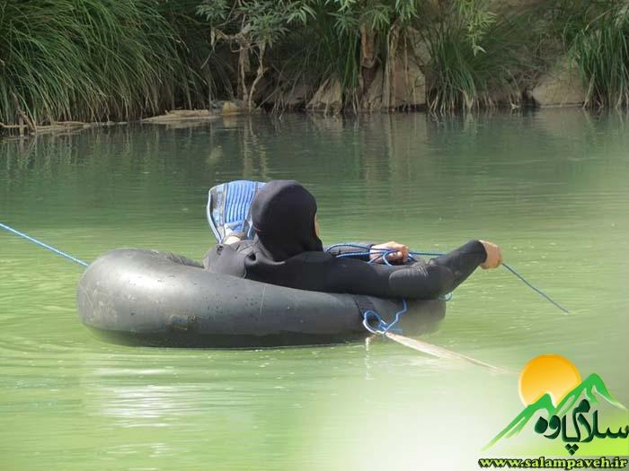 جسد جوان غرق شده جوانرودی در آب سیروان پیدا شد+ عکس