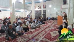 شب شعر در مسجد حضرت عبدالله
