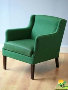 صندلی سبز