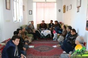 دیدار فعالان فرهنگی در سنندج