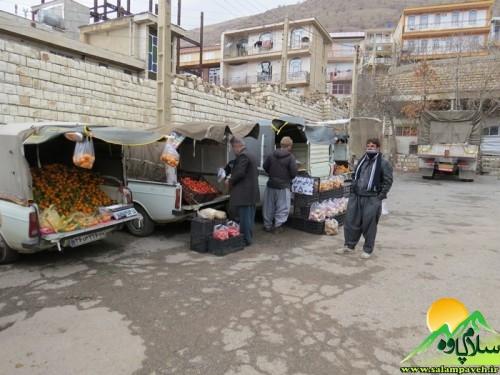 بازار میوه و تره بار