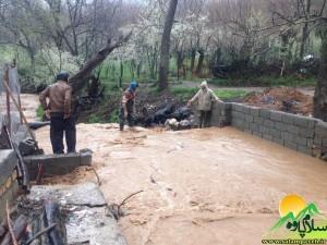 سیلاب روستای نسمه