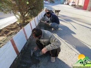 فعالیتهای عمرانی شهرداری پاوه