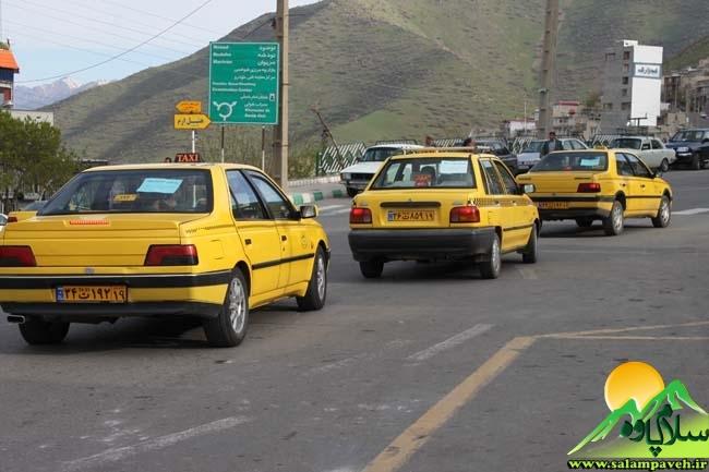 کرایه تاکسی پاوه گران شد/نرخهای جدید مشخص شد