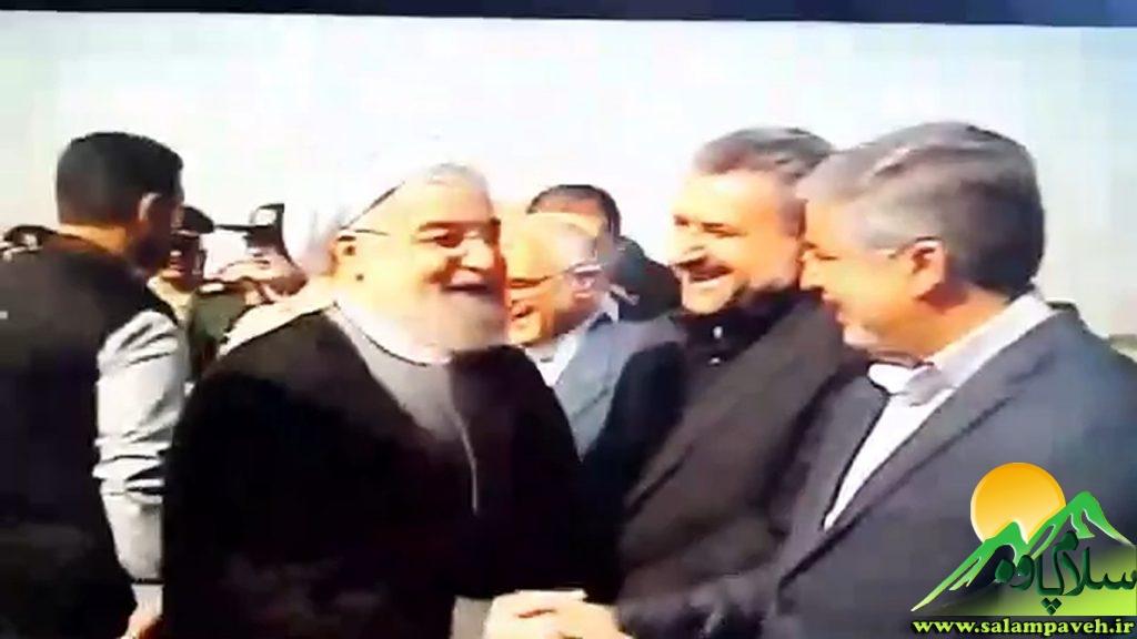 استقبال امام جمعه و نماینده رئیس جمهور