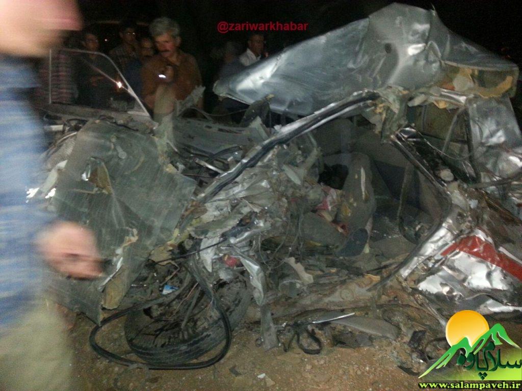 تصادف در روستای دزلی