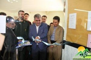 افتتاح نمایشگاه خوشنویسی