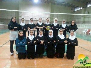 والیبال دختران پاوه