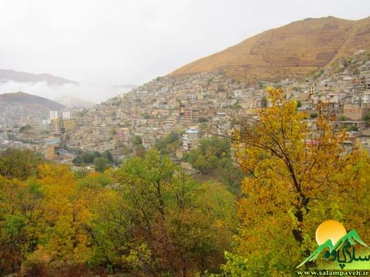کاهش دمای هوا در شهرهای مختلف استان کرمانشاه ادامه می یابد