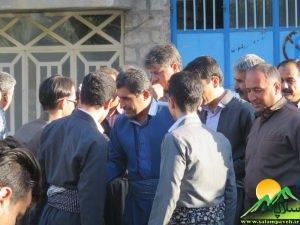 بازدید مردمی شهاب نادری در پاوه