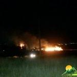 آتش سوزی گاو داری حسن آباد رونسر