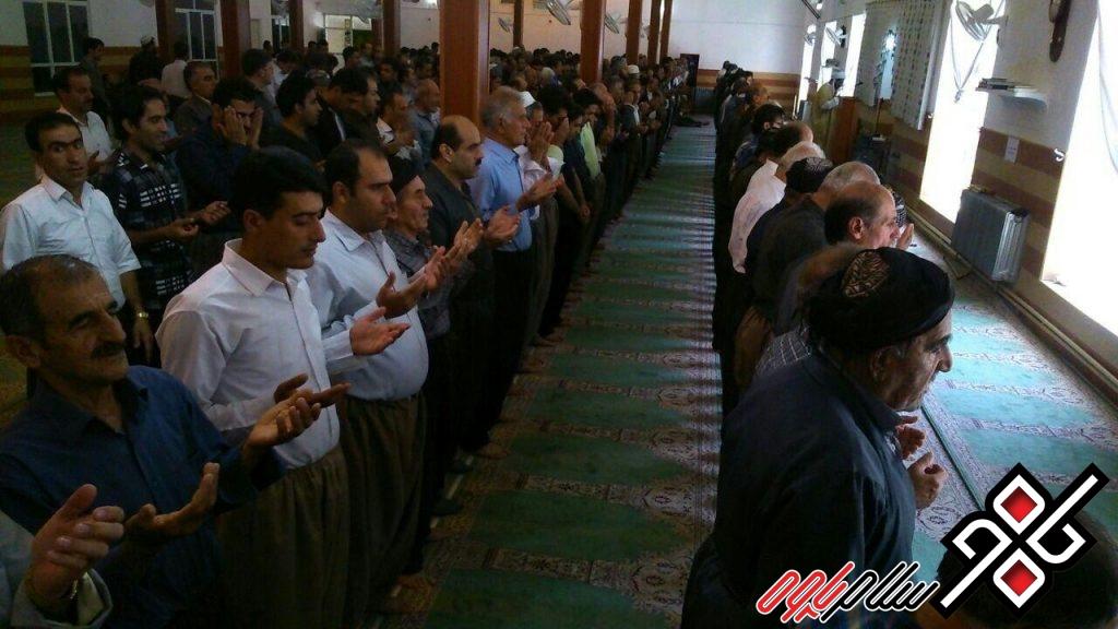نماز جمعه نودشه