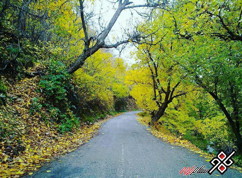 اوه ، طبیعت زیبای روستای خانقاه ، عکس: سعید فیضی