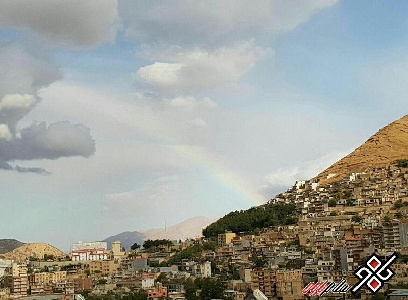 نمایی زیبا از شهر پاوه ، عکس: سید کامل حسینی