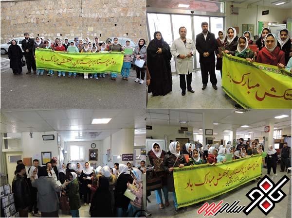 از پرستاران بیمارستان قدس پاوه تجلیل شد/تصاویر