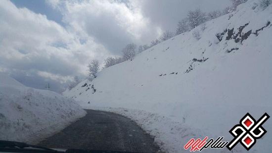 بازگشایی و برف روبی راههای مواصلاتی شهرستان پاوه/کاهش دما و توده سرد در راه است/عکس