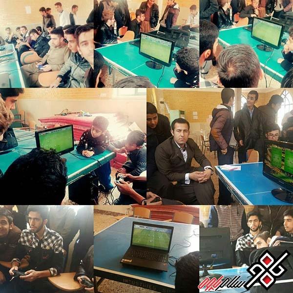 برگزاری مسابقات PESفوتبال بمناسبت فرا رسیدن عید نوروز در بانه وره