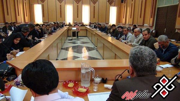 تذکر شدید فرماندارپاوه به مدیران آبفای شهری و روستایی پاوه