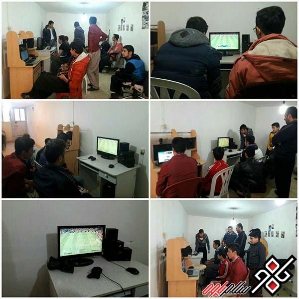 برگزاری یک دوره مسابقات PES فوتبال در روستای خانقاه شهرستان پاوه/ عکس