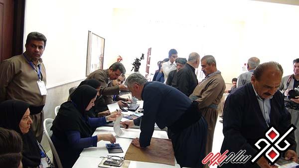 حضور ۷۶ درصدی مردم شهرستان پاوه در انتخابات/ اسامی و آرای شوراهای بخش باینگان و نوسود