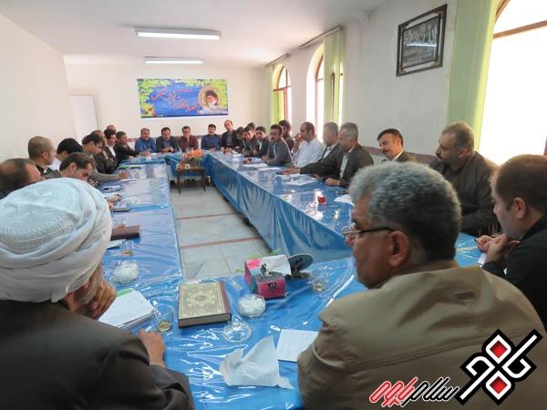 جلسه کارگروه شورای اشتغال در نوسود