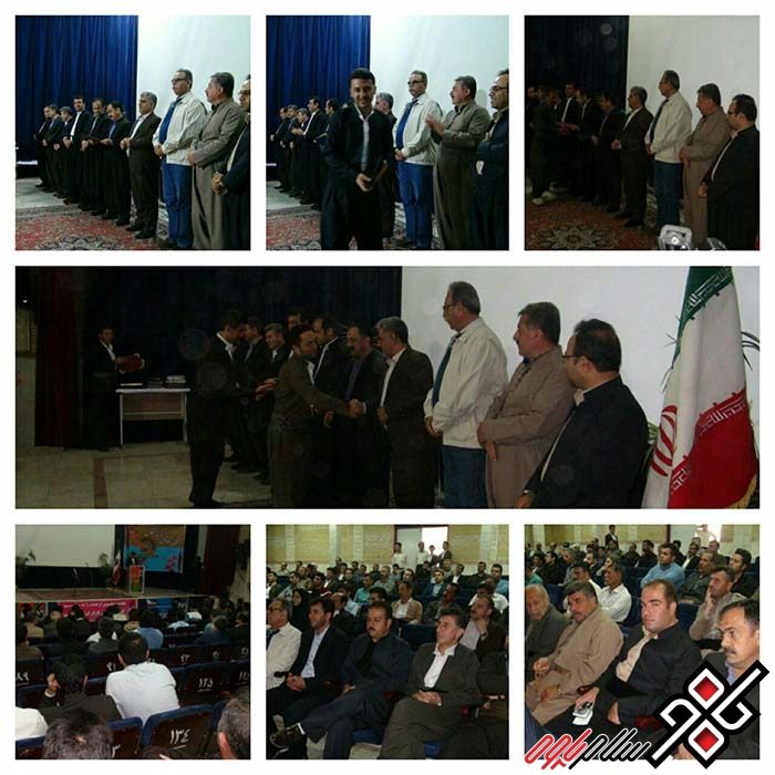 مراسم روز کارگر در شهرستان پاوه برگزار شد