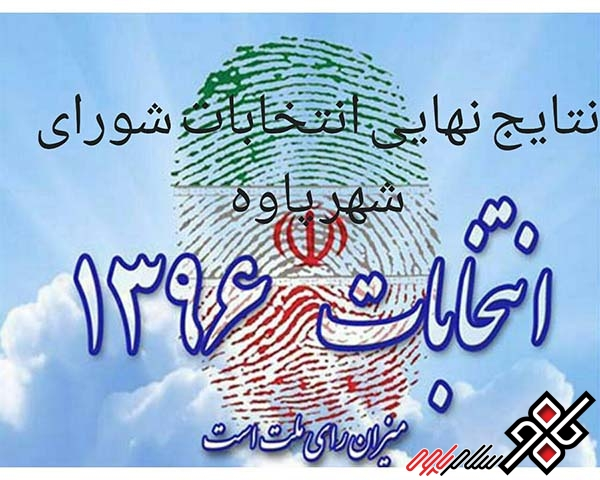 نتایج انتخابات شورای اسلامی شهر پاوه اعلام شد/ اسامی و آراء