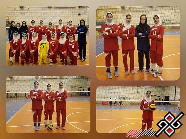 والیبال نوجوانان دختر کشور